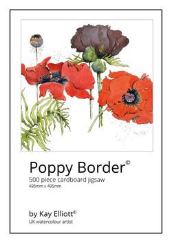 Poppy Border Jigsaw