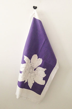 Clematis Tea Towel