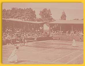 Women's Lawn Tennis Match - 1920s