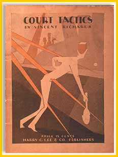 Booklet, Court Tactics by Vinnie Richards, 1925