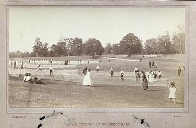Lawn Tennis Photo - 1880
