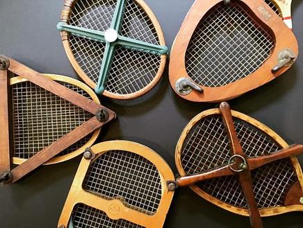 Tennis Presses - 1890 - 1935