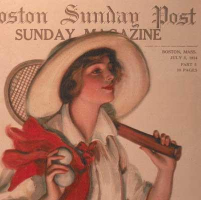 Boston Sunday Post Magazine, 1915
