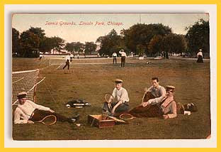 Post Card of Lincoln Park in Chicago, IL, 1904