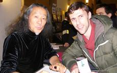 with Kitaro