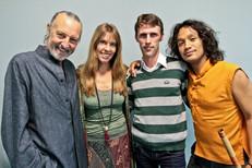 with Deva Premal, Miten & Manose