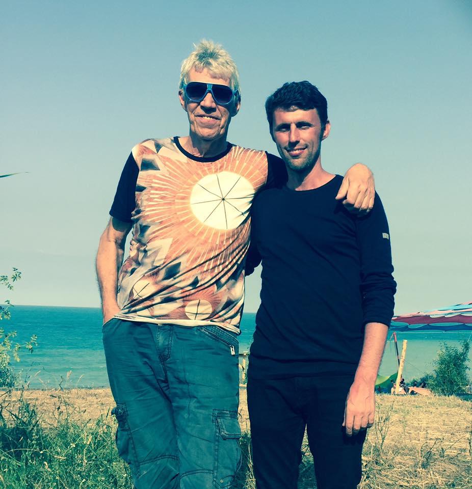 with Steve Schroyder