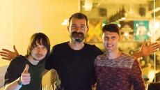 with Michi (Șuie Paparude) & Marika