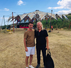 with Eric Mouquet (Deep Forest)