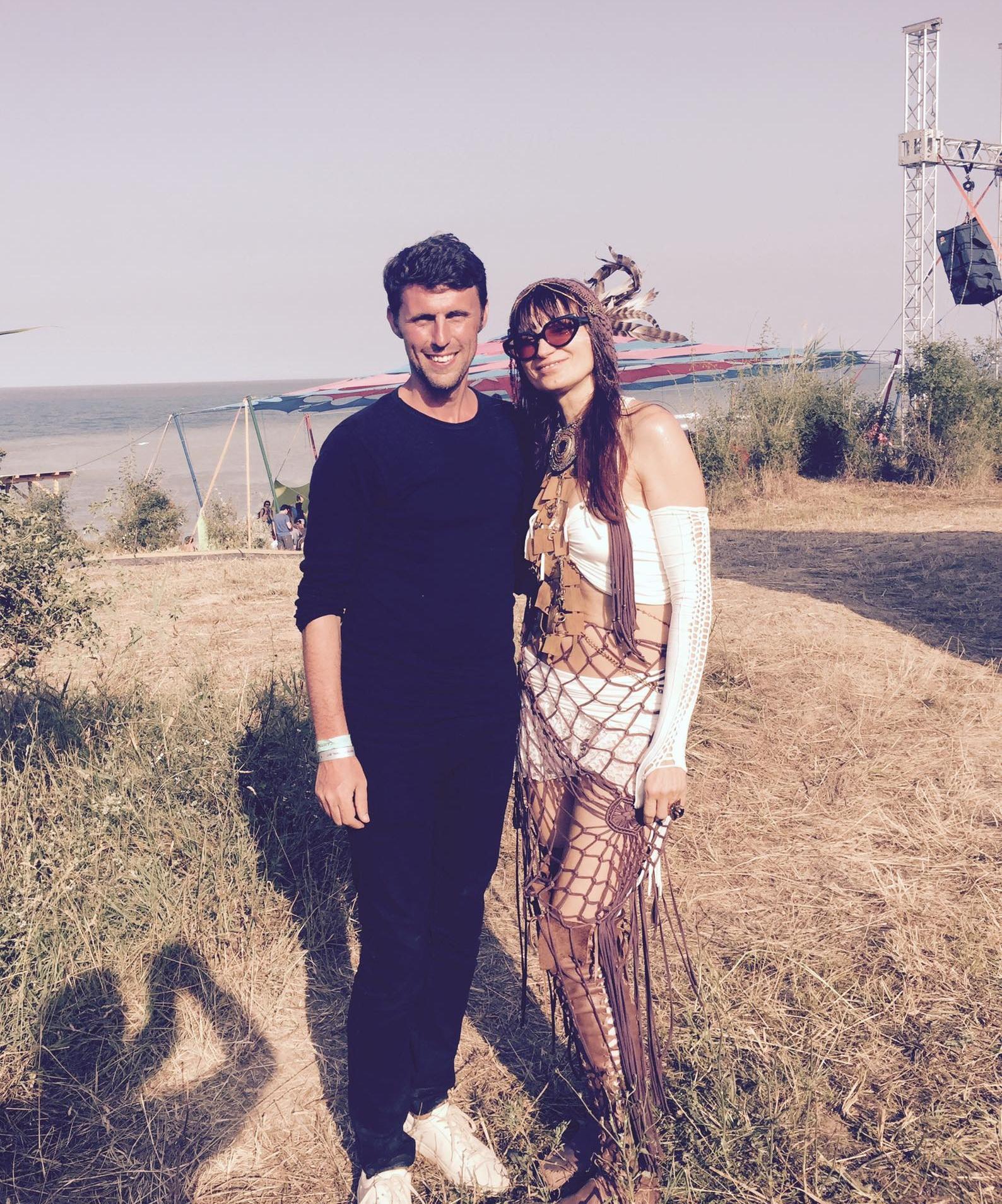 with Irina Mikhailova