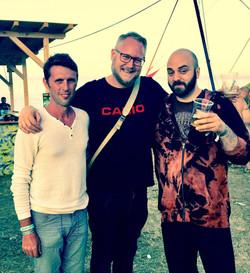 with Robert Elster (Vibrasphere) & Johan