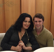 with Angela Gheorghiu