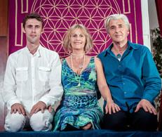 with Terry Oldfield & Soraya Saraswati
