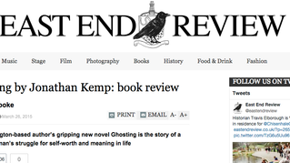 Ghosting by Jonathan Kemp: book review