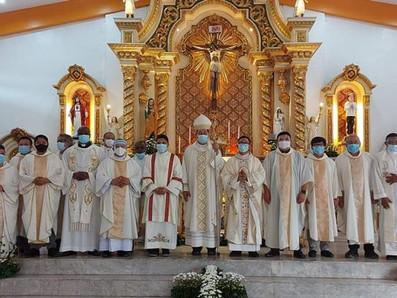 Jerome Hermosada e Yolleces Amora hanno ricevuto il Sacramento dell'Ordine