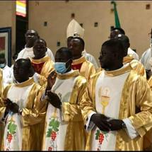 Ordinazioni di 8 confratelli in Costa d'Avorio
