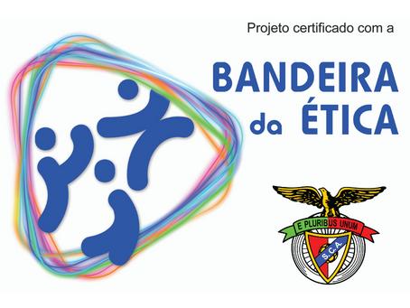 SC Angrense recebe a Bandeira da Ética