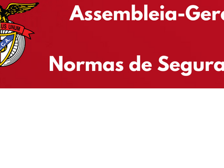 Assembleia-Geral - Normas de Segurança