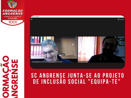 SC Angrense junta-se ao Projeto de inclusão social 'Equipa-te'