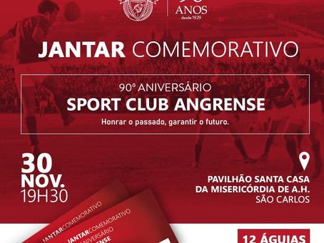 Jantar comemorativo 90º Aniversário SC Angrense!