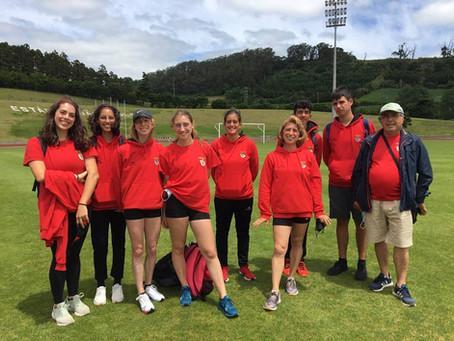 SC Angrense com participação positiva no Atletismo