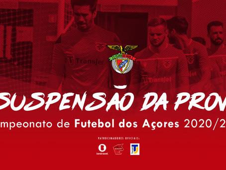 Campeonato de Futebol dos Açores suspenso até 2021