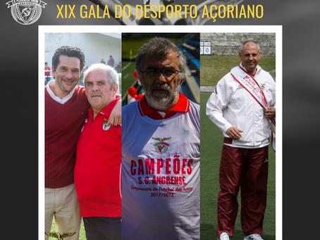 Dirigentes e Técnico do SC Angrense distinguidos na XIX Gala do Desporto Açoriano