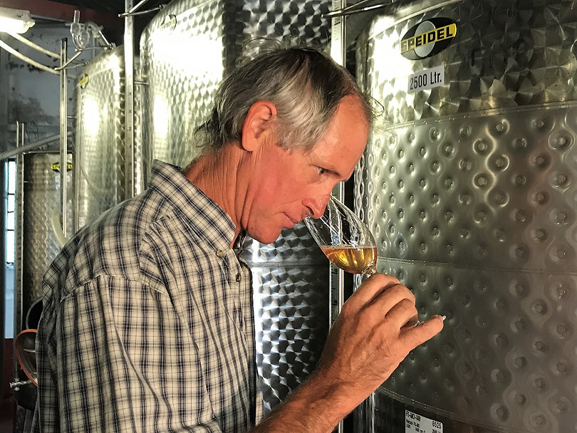 Kevin Sutherland in winery.JPG