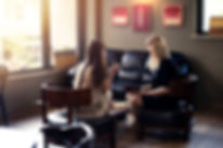 Psycologist consulting woman client indo