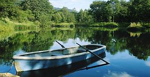 Boot op Lake