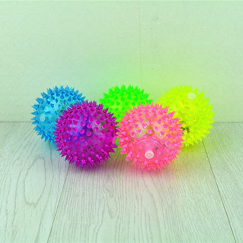 Hedgehog Rubber Ball Puppy Play Toys