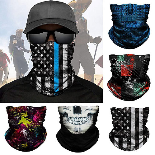 Half Face Mask Shield Headband