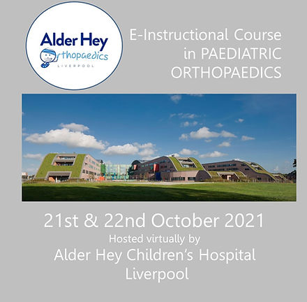 E-Instructional course in Paediatric Orthopaedics