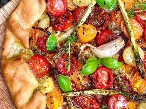 Tarte Rustique Tomates Cerises