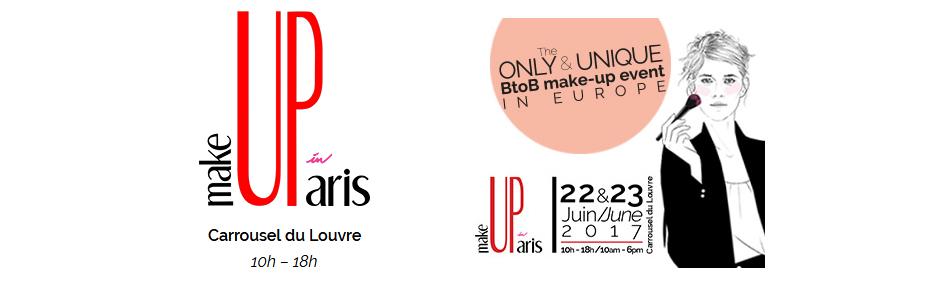 MakeUp in Paris, France, June 2017