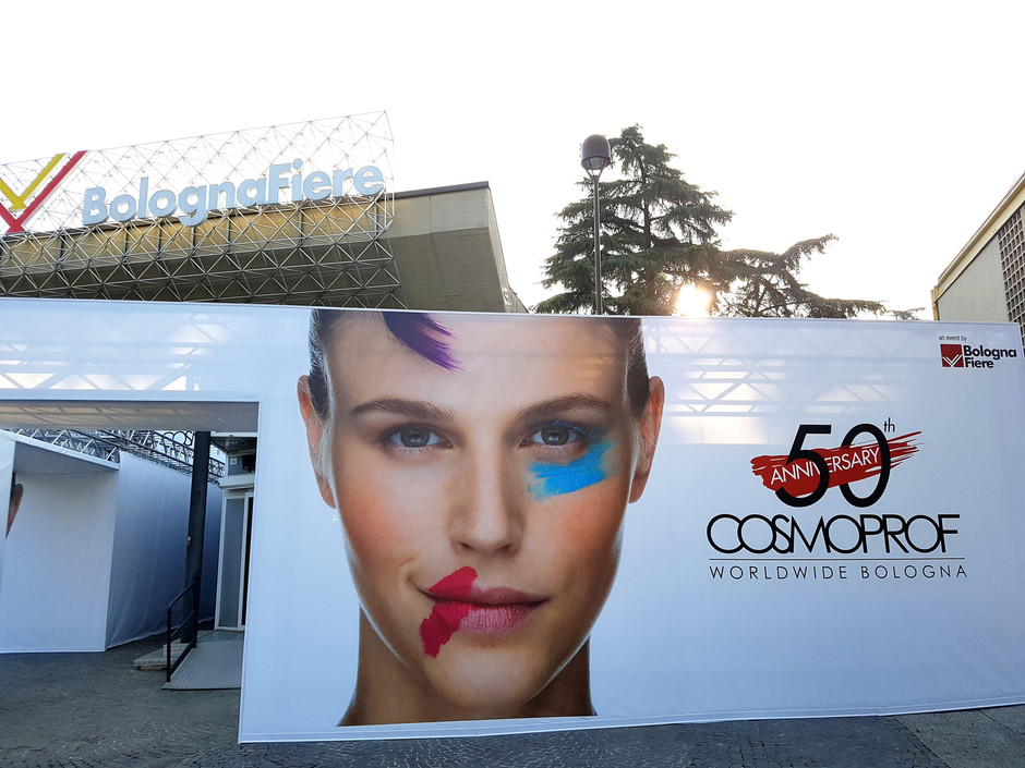 Cosmoprof in Bologna, Italy, Mar 2017