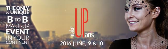 MakeUp in Paris, France, June 2016