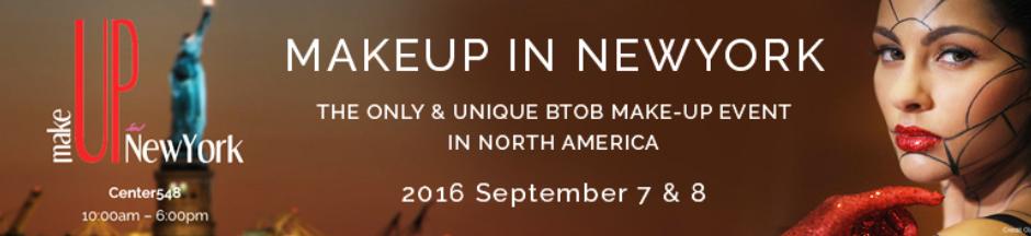 MakeUp in New York, USA, Sep 2016