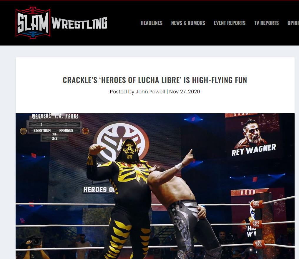 heroes of lucha libre on SLAM WRESTLE
