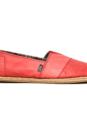 Santa Monica Red Paper Shoes (Men)