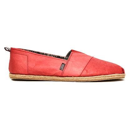 Santa Monica Red Paper Shoes (Women)