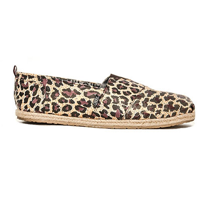 Santa Monica Women Leopard Paper Shoes