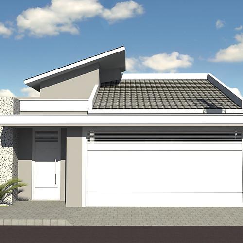 Casa Térrea - Terreno 10 x 30m