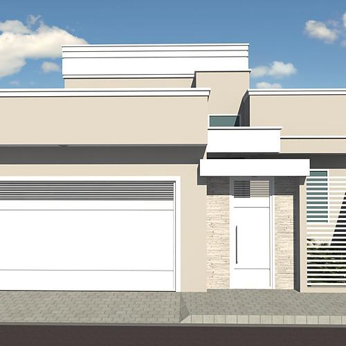 Casa Terrea - Terreno 10 x 30m