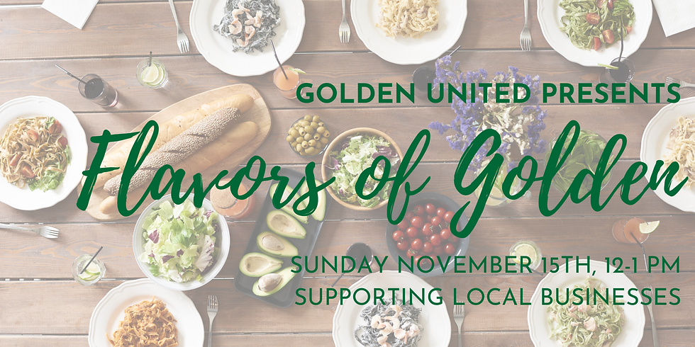 Flavors of Golden 2020: Supporting and Celebrating Local Business