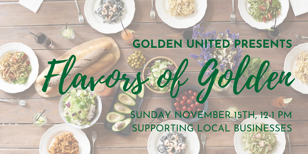 Flavors of Golden: Supporting and Celebrating Local Business