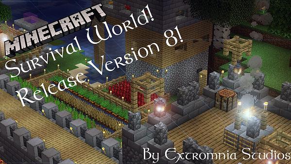Minecraft Survival World Release Version