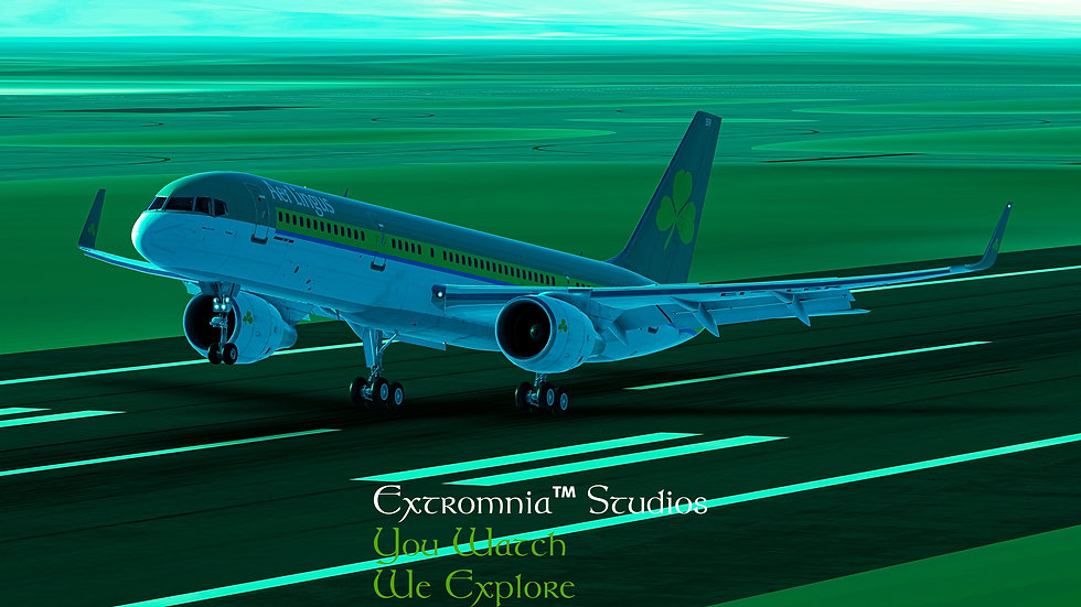 Extromnia Studios - 757 Aer Lingus