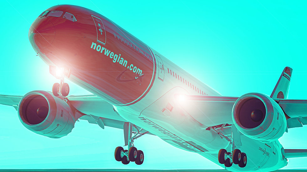Extromnia Studios - Air Norwegian 787 Collection