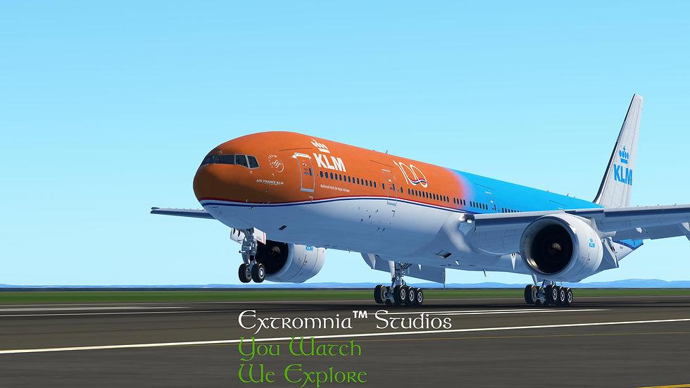 Extromnia Studios - 77W KLM